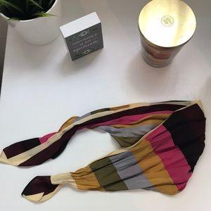 Madewell striped silk bandana